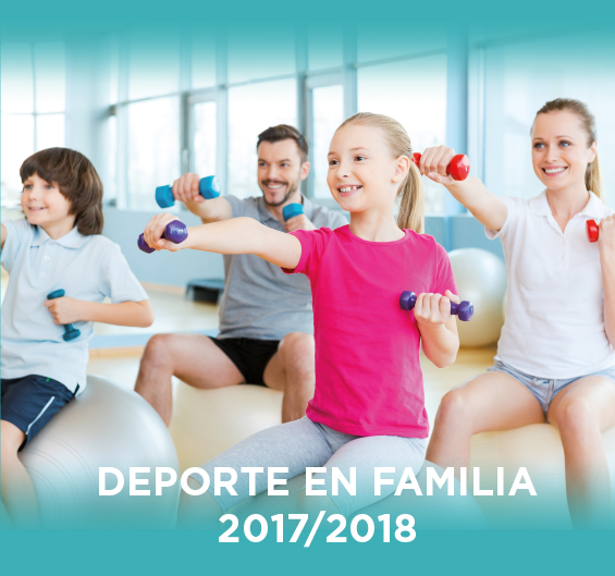 Folleto Deporte en Familia 2017/2018