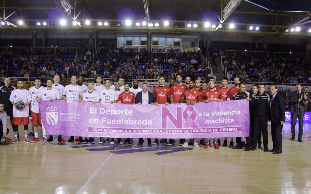 El deporte en Fuenlabrada se une contra la violencia machista