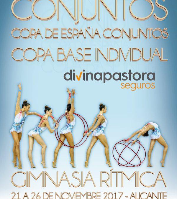 Resultados de nuestros clubes de gimnasia rítmica en la Copa de España Base y Campeonatos de Madrid