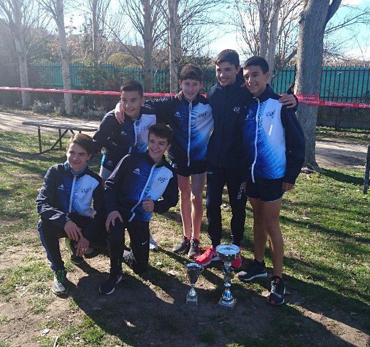 El equipo sub-16 del Club Atletismo Fuenlabrada se clasifica para el Campeonato de España de Cross de Clubes Menores