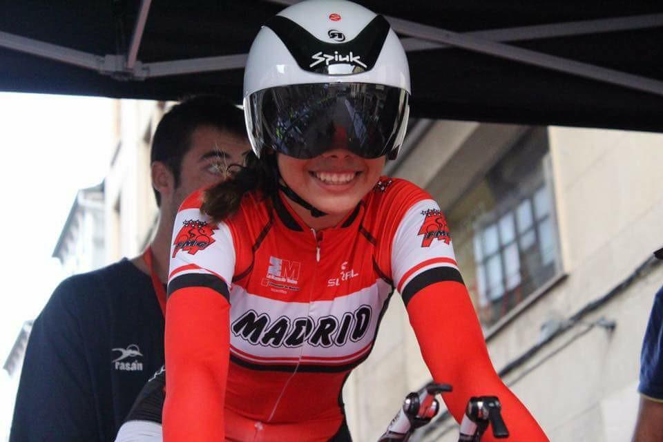 Rosalía Ortiz debuta como ciclista profesional con un equipo italiano