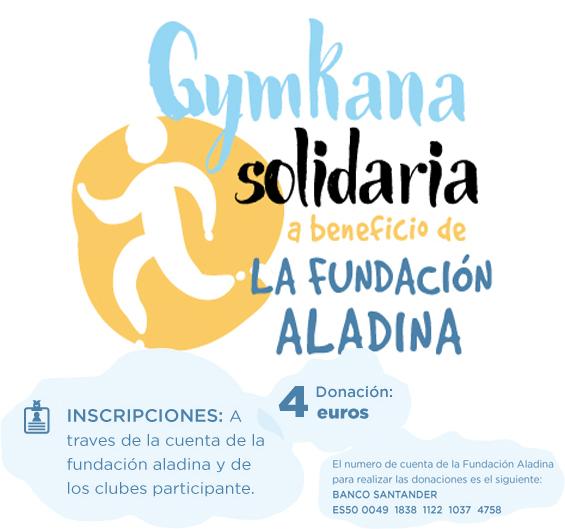 Cartel Gymkana Solidaria 2018