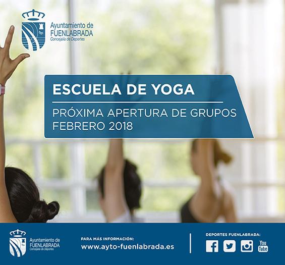 Nuevos grupos de Yoga