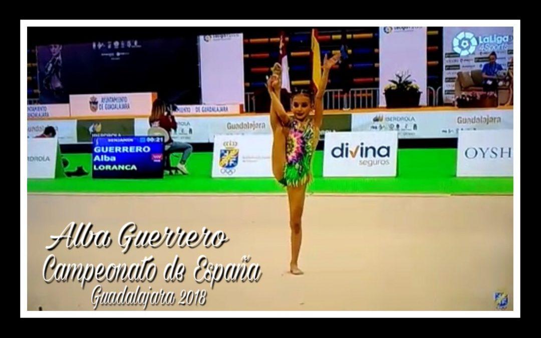 Resultados del Club Gimnástico Loranca en el Campeonato de España Nacional Base Individual