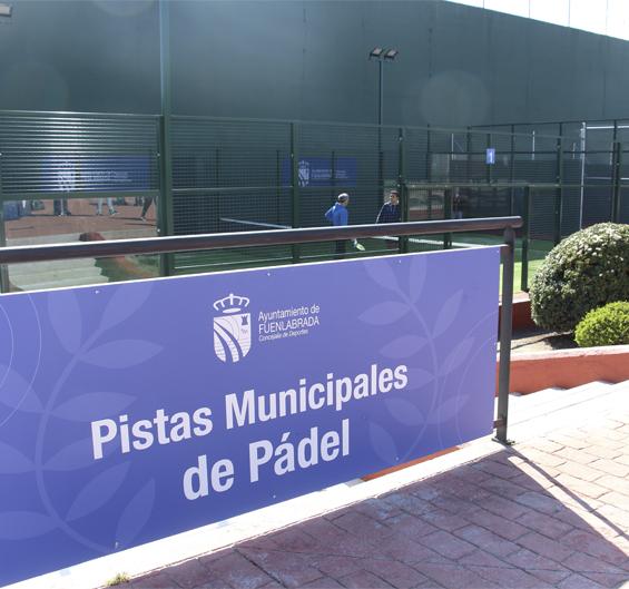 Fotografía de las Pistas Municipales de Pádel del Polideportivo Fermín Cacho