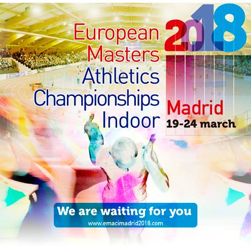 Resultados del Club Atletismo Fuenlabrada en el Campeonato de Europa Máster, celebrado en Madrid