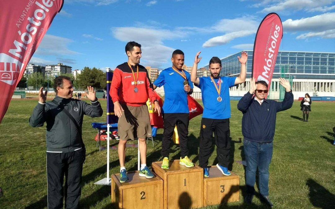 El fuenlabreño David Muñoz García se sube al podio en el Campeonato de España de Atletismo para sordos