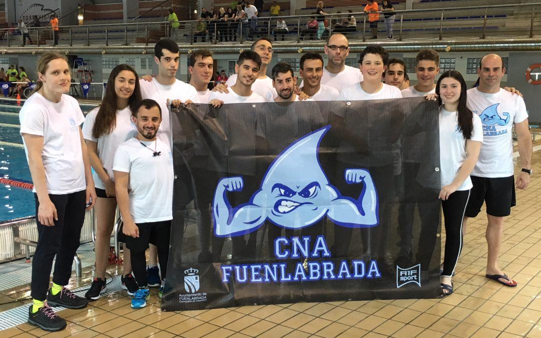 El Club Natación Adaptada Fuenlabrada se trae 34 medallas del Open Comunidad Valenciana de natación adaptada