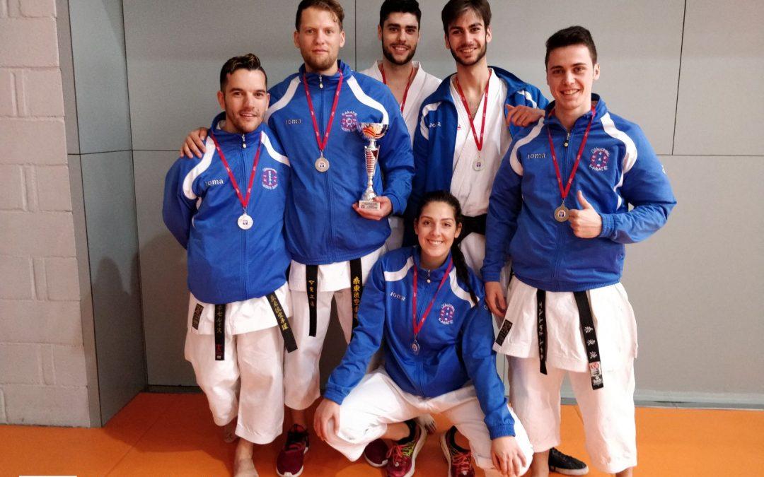 El Club de Karate Alhucema de Fuenlabrada, subcampeón en el Campeonato de Clubes de la Comunidad de Madrid
