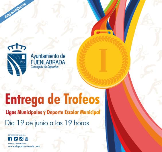 Entrega de Trofeos Ligas Municipales y Deporte Escolar Municipal