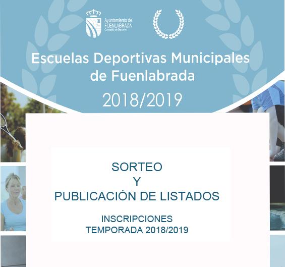 Información Escuelas Deportivas Municipales
