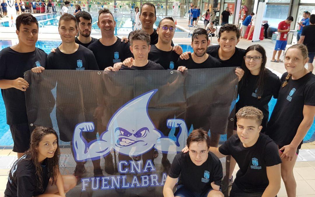 El Club Natación Adaptada Fuenlabrada comienza la temporada en los I Juegos Parainclusivos