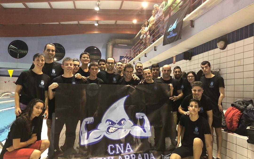El Club Natación Adaptada Fuenlabrada inaugura la temporada en el Open de Natación Adaptada de Rivas Vaciamadrid