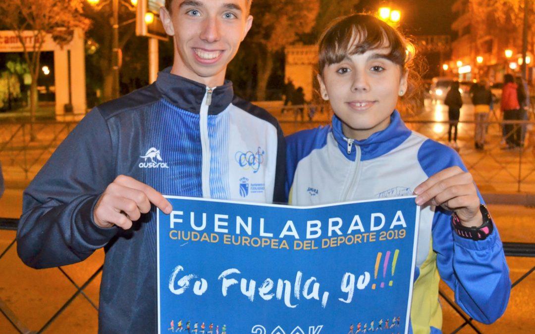 Silvia Villar, campeona de España sub16 y Alejandro Cadenas, séptimo en categoría sub20 , en el Campeonato de España de Marcha Atlética