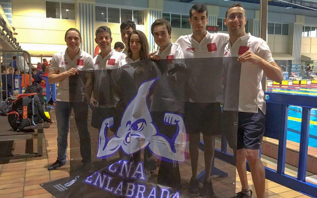Cuatro oros , diez platas y seis bronces del Club Natación Adaptada Fuenlabrada en el Campeonato de España Absoluto por Comunidades