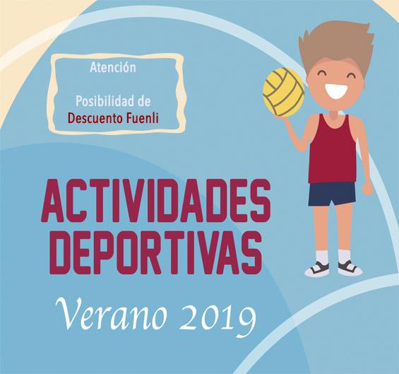 Folleto Actividades Deportivas 2019