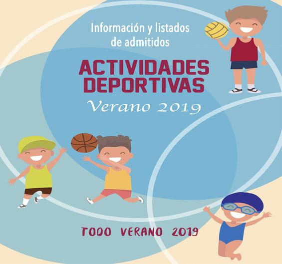 Acceso Información Actividades Verano 2019