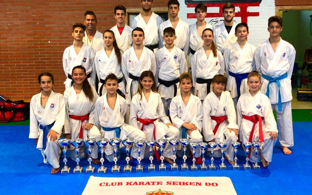 El club Seiken Do consigue un gran segundo puesto en el medallero del Trofeo de la Comunidad de Madrid de Kumite