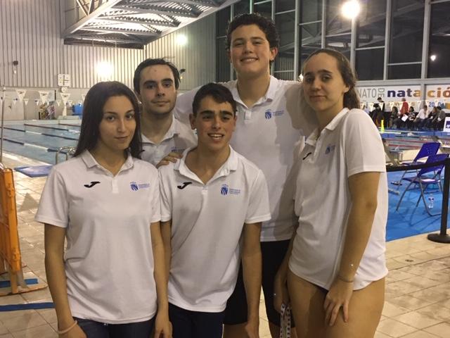 El Club Natación Adaptada Fuenlabrada continua en su línea ascendente en el Campeonato de España AXA de Jóvenes por categorías de edad