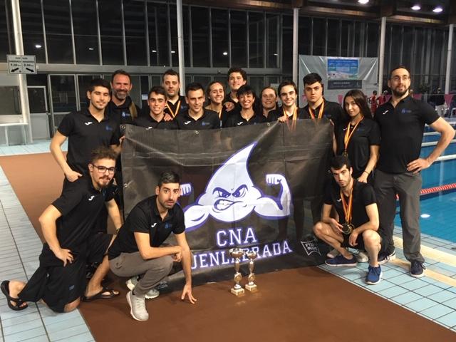El Club Natación Adaptada Fuenlabrada, mejor club del III Open Nacional de Natación Adaptada Castilla la Mancha