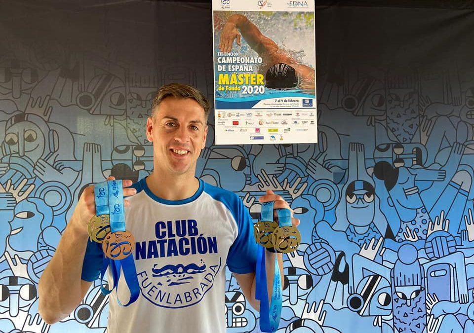 El Club Natación Fuenlabrada, cuarto en Campeonato de España Máster de Fondo